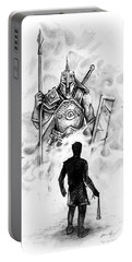 Quick Sketch - David And Goliath Portable Battery Charger