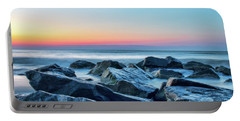 Quiet Beach Haven Morning II Portable Battery Charger