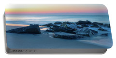 Quiet Beach Haven Morning Portable Battery Charger