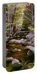 Quiet Brook Portable Battery Charger by Nancy Griswold