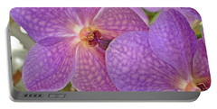 Portable Battery Charger featuring the photograph Quiet Grace 2 by Lynda Lehmann