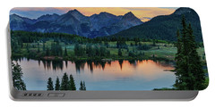 Portable Battery Charger featuring the photograph Quiet In The San Juans by Rick Furmanek