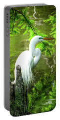 Quiet Moments Of Elegance Portable Battery Charger by Karen Wiles