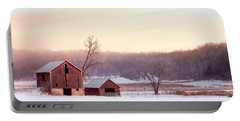 Quiet Winter Valley Portable Battery Charger