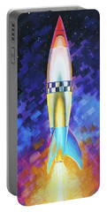Quintesential Rocketship Portable Battery Charger
