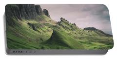 Quiraing Landscape 3 Portable Battery Charger