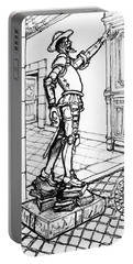 Quixote Museum Portable Battery Charger