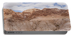 Portable Battery Charger featuring the photograph Qumran National Park by Yoel Koskas