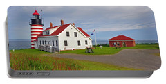 Quoddy Head Lighthouse Portable Battery Charger