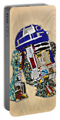 R2-d2 Star Wars Afrofuturist Collection Portable Battery Charger