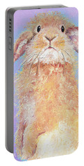 Rabbit Painting - Babu Portable Battery Charger
