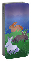 Rabbits Rabbits Rabbits Portable Battery Charger