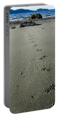 Raccoon Tracks Portable Battery Charger