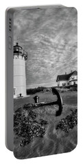 Race Point Lighthouse Bw Portable Battery Charger