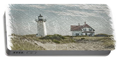 Race Point Lighthouse Portable Battery Charger by Paul Miller