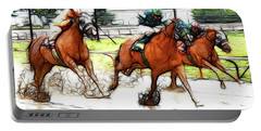 Racetrack Dreams 9 Portable Battery Charger