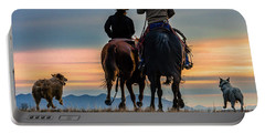 Racing To The Sun Wild West Photography Art By Kaylyn Franks Portable Battery Charger