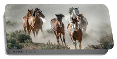 Racing To The Water Hole Portable Battery Charger