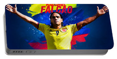 Radamel Falcao Portable Battery Charger