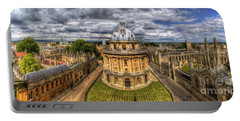 Radcliffe Camera Panorama Portable Battery Charger by Yhun Suarez