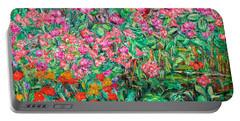 Radford Flower Garden Portable Battery Charger