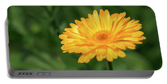 Radiant Summer Flower Soaking It Up Portable Battery Charger