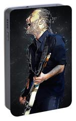 Radiohead - Thom Yorke Portable Battery Charger by Semih Yurdabak