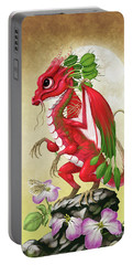 Radish Dragon Portable Battery Charger by Stanley Morrison