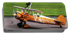 Raf Scampton 2017 - Breitling Wingwalkers At Rest Portable Battery Charger