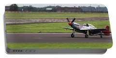 Raf Scampton 2017 - P-51 Mustang Landing Portable Battery Charger