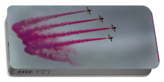 Raf Scampton 2017 - Red Arrows Enid Formation Portable Battery Charger