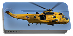 Raf Sea King Search And Rescue Helicopter 2 Portable Battery Charger