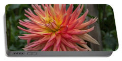 Ragged Dahlia Portable Battery Charger