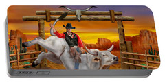 Ride 'em Cowboy Portable Battery Charger