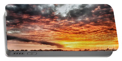 Raging Sunset Portable Battery Charger