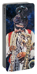 Rahsaan Roland Kirk- Jazz Portable Battery Charger by Sigrid Tune