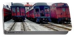 Portable Battery Charger featuring the photograph Rail Stock by Paul W Faust - Impressions of Light