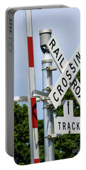 Railroad Crossing Portable Battery Charger