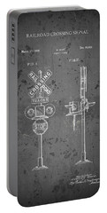 Railroad Crossing Signal Patent Design  1936 Portable Battery Charger