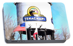 Portable Battery Charger featuring the photograph Railroad Park Tehachapi California Detail by Floyd Snyder