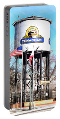 Portable Battery Charger featuring the photograph Railroad Park Tehachapi California by Floyd Snyder