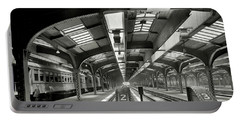 Railroad Shed - Chicago And Northwestern - Chicago C. 1910 Portable Battery Charger