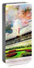 Railroad Station Magic Kingdom Walt Disney World, Fantasy Starry Portable Battery Charger