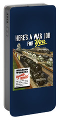 Railroad Workers Urgently Needed Portable Battery Charger