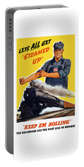 Railroads Are The First Line Of Defense Portable Battery Charger