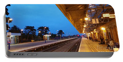 Railway Vanishing Point Portable Battery Charger