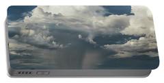 Portable Battery Charger featuring the photograph Rain, Beautiful Rain  by Saija Lehtonen