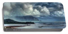 Rain Clearing Kaneohe Bay Portable Battery Charger