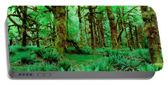 Rain Forest, Olympic National Park Portable Battery Charger