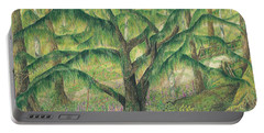 Rain Forest Washington State Portable Battery Charger